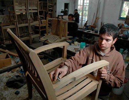 Fábrica de muebles de jardín